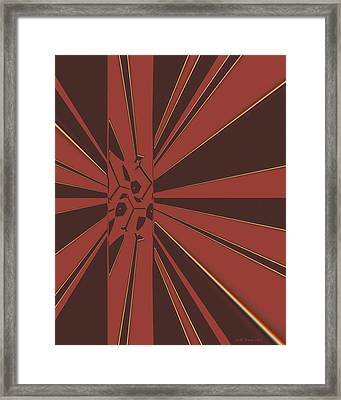 Civilities Framed Print by Judi Suni Hall
