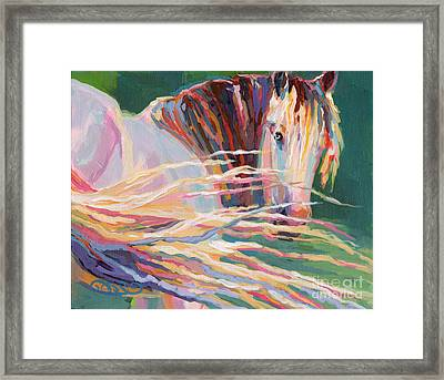 Clarisse Framed Print by Kimberly Santini