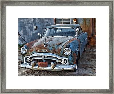 Classic 1956 Packard-automobile Framed Print by Tom Druin