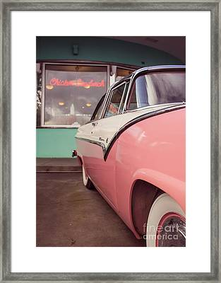 American Graffiti  Framed Print by Edward Fielding
