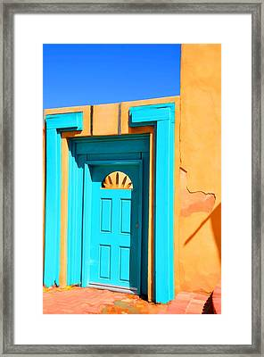 Classic Blues Framed Print by Jan Amiss Photography