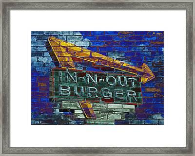 Classic Cali Burger 2.2 Framed Print by Stephen Stookey