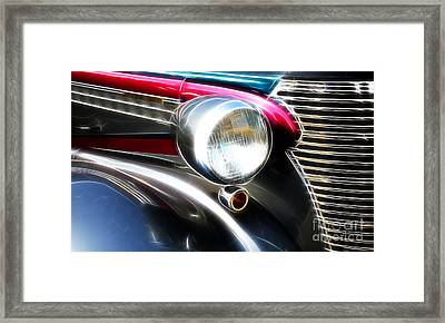 Classic Cars Beauty By Design 1 Framed Print by Bob Christopher