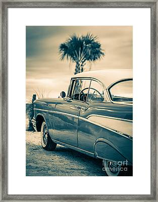 Classic Chevy Bel Air '57 Framed Print by Edward Fielding