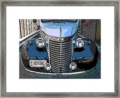 Classic Chevy Pickup 1 Framed Print by Samuel Sheats