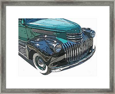 Classic Chevy Pickup 2 Framed Print by Samuel Sheats
