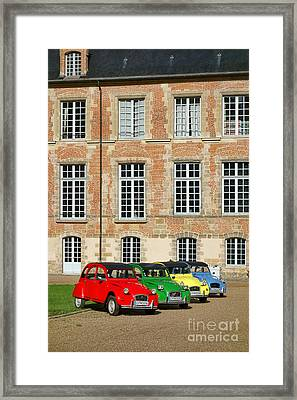 Classic Citroen Framed Print by Olivier Le Queinec