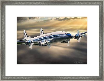 Classic Constellation Framed Print by Peter Chilelli