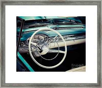Classic Driver Framed Print by Perry Webster