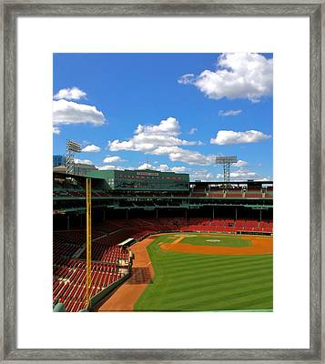 Classic Fenway I  Fenway Park Framed Print by Iconic Images Art Gallery David Pucciarelli