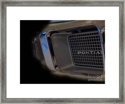 Classic Firebird Grill Framed Print by Christian Jansen