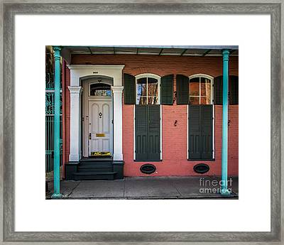 Classic Front Framed Print by Perry Webster
