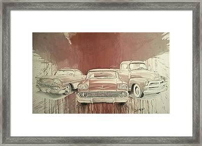 Classic Gsm Framed Print by Steven  Nakamura