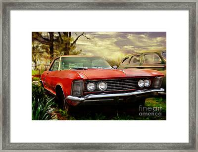 Classic Framed Print by Liane Wright