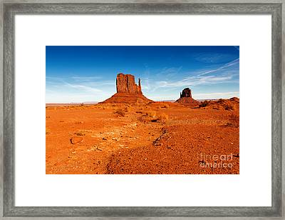 Classic Mittens Framed Print by Beve Brown-Clark Photography