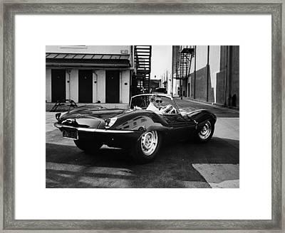 Classic Steve Mcqueen Photo Framed Print by Georgia Fowler