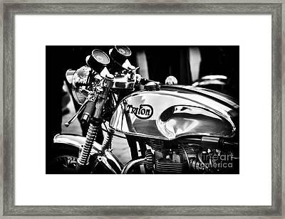 Classic Triton Framed Print by Tim Gainey