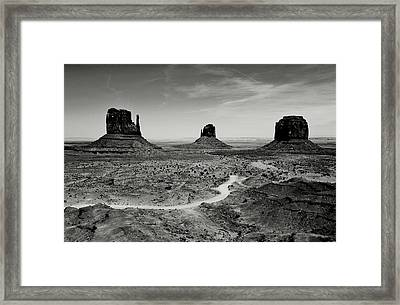 Classic West Framed Print by Benjamin Yeager