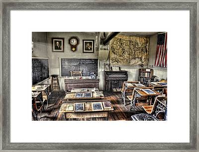 Classroom Recess Framed Print by Ken Smith