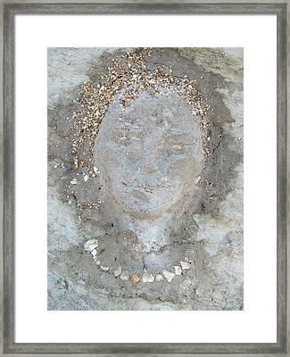 Clay Girl Framed Print by Elena Gushchina