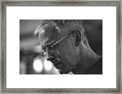 Clay Jenkins Framed Print by Dailey Pike