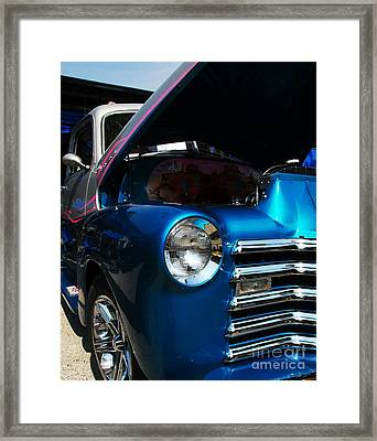 Clean And Shiny 1 Framed Print by Mel Steinhauer