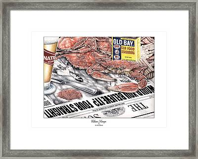 Clean Sweep Framed Print by Jonathan W Brown