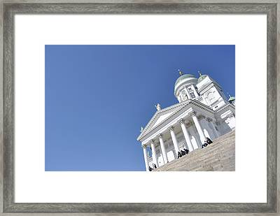 Clear Day At The Dom Framed Print by Frederico Borges