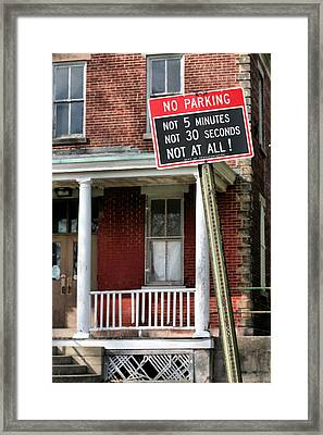 Clear Enough For You Framed Print by JC Findley