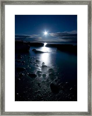 Clearville Moonrise Framed Print by Cale Best