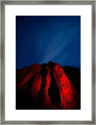 Clearville Rock Framed Print by Cale Best