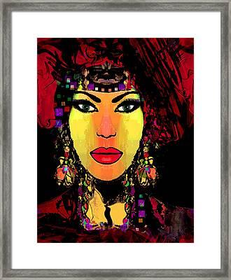 Cleo Framed Print by Natalie Holland