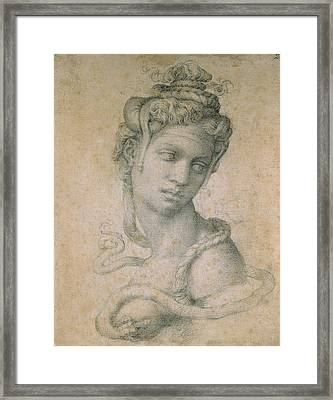 Cleopatra Framed Print by Michelangelo