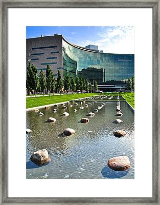 Cleveland Clinic Framed Print by Frozen in Time Fine Art Photography