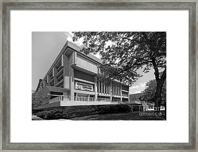 Cleveland State University Center Framed Print by University Icons