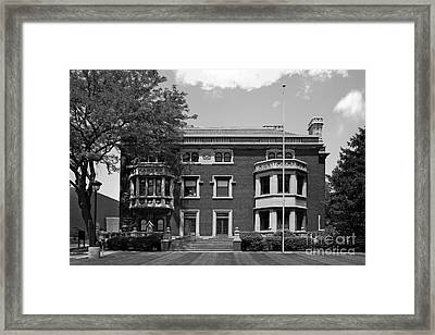 Cleveland State University Mather Mansion Framed Print by University Icons