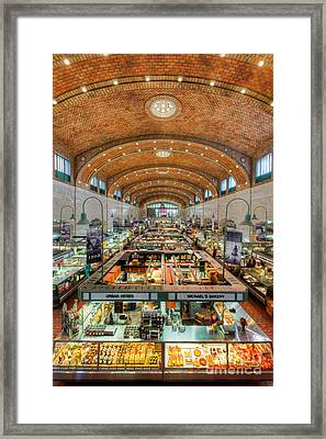 Cleveland West Side Market IIi Framed Print by Clarence Holmes