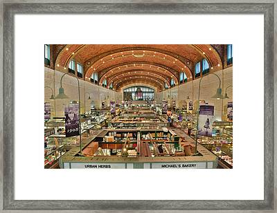 Cleveland's West Side Market Framed Print by Frozen in Time Fine Art Photography