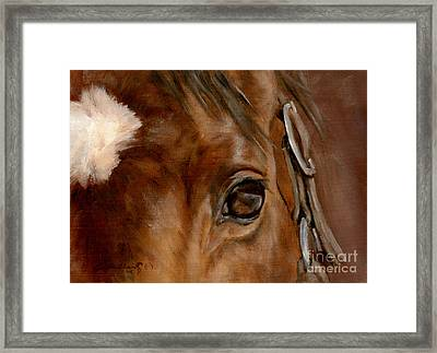 Clever Eye Framed Print by Linda Shantz