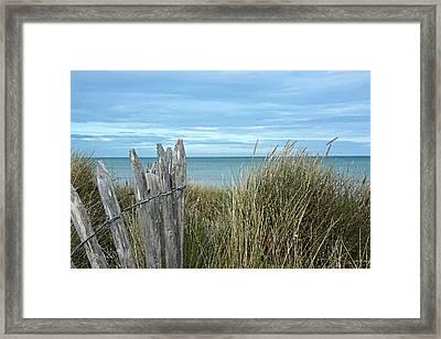 Cliff Edge Framed Print by Cheri Randolph