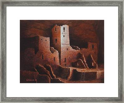 Cliff Palace Framed Print by Jerry McElroy