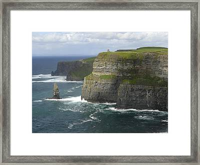 Cliffs Of Moher 2 Framed Print by Mike McGlothlen
