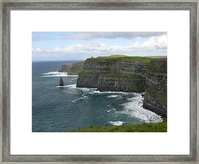 Cliffs Of Moher 3 Framed Print by Mike McGlothlen