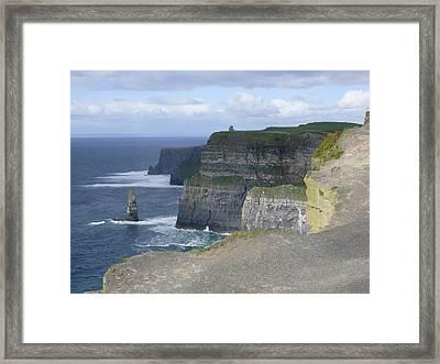 Cliffs Of Moher 4 Framed Print by Mike McGlothlen