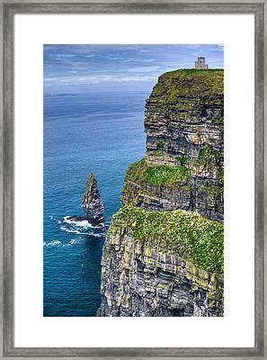 Cliffs Of Moher 41 Framed Print by Douglas Barnett