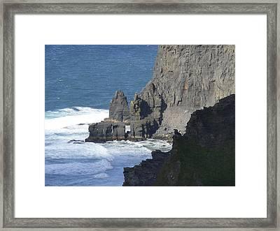 Cliffs Of Moher 6 Framed Print by Mike McGlothlen