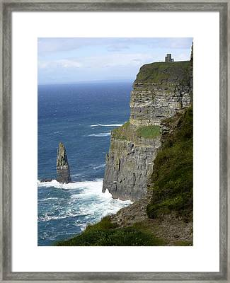 Cliffs Of Moher 7 Framed Print by Mike McGlothlen