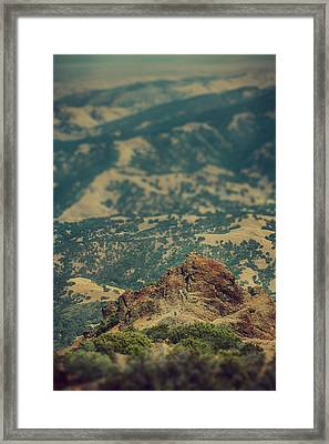 Climb Framed Print by Laurie Search