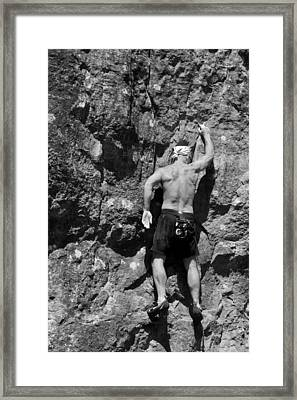 Climb Framed Print by Off The Beaten Path Photography - Andrew Alexander