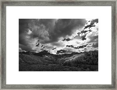 Climb The Clouds Framed Print by Jon Glaser